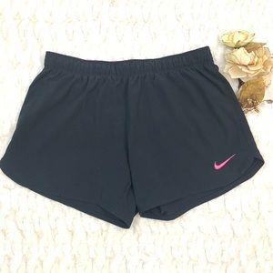 Nike Phantom 2 in 1 Black Pink Dri-Fit Shorts